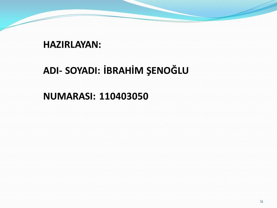 KAYNAKLAR 1. Komisyon, İhtiyaç Yayıncılık, 2012 2. İlköğretim Matematik 6.Sınıf Ders Kitabı 3. Güven Güllüoğlu, Yargı Yayınevi, 2013 10