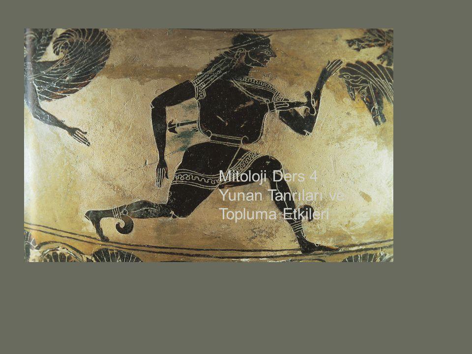 Mitoloji Ders 4 Yunan Tanrıları ve Topluma Etkileri
