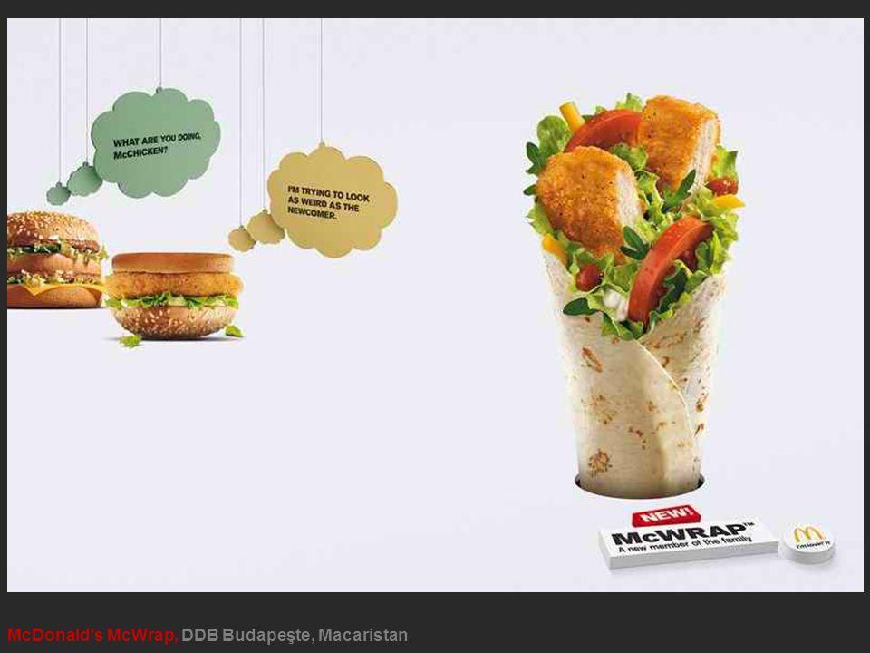 McDonald s McWrap, DDB Budapeşte, Macaristan