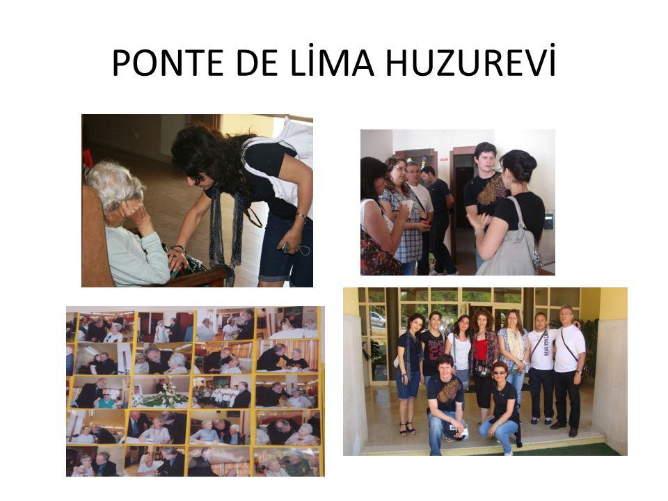 19 / 06 / 2012 Ponte De Lima Yaşlılar Dayanışma Derneği ( Huzur evi) ziyareti gerçekleştirildi.