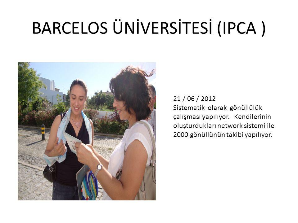 21 / 06 / 2012 Sistematik olarak gönüllülük çalışması yapılıyor.