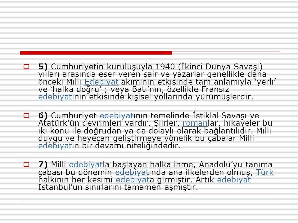 a) Çolak Salih b) Dr.Haydar Bey c) Ali Emmi d) Çerkez Ethem e) İstanbullu Hoca S3.