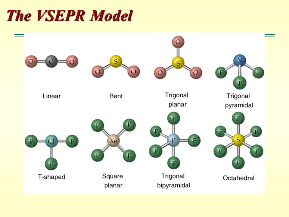 The VSEPR Model