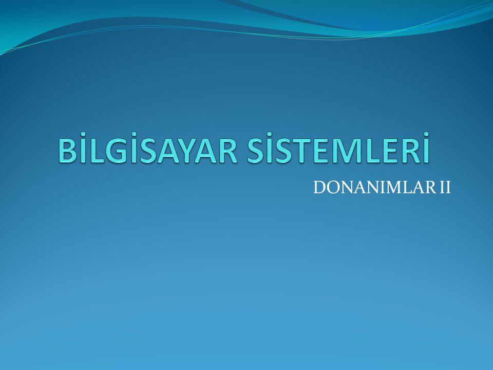 DONANIMLAR II