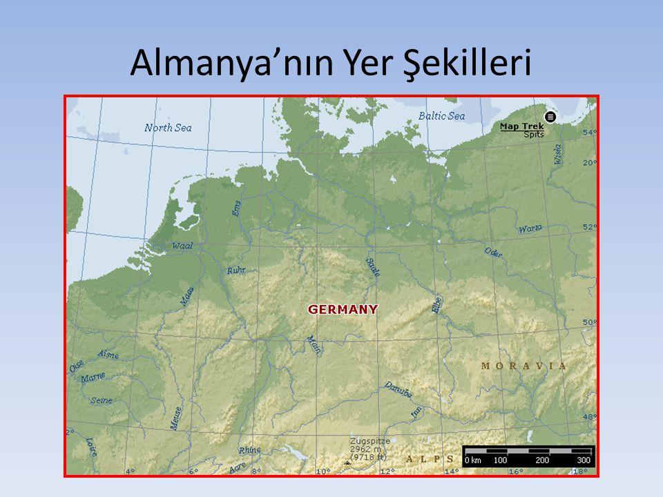 Almanya'nın İklimi Almanya da ılıman okyanus ve karasal iklim özellikleri görülür.