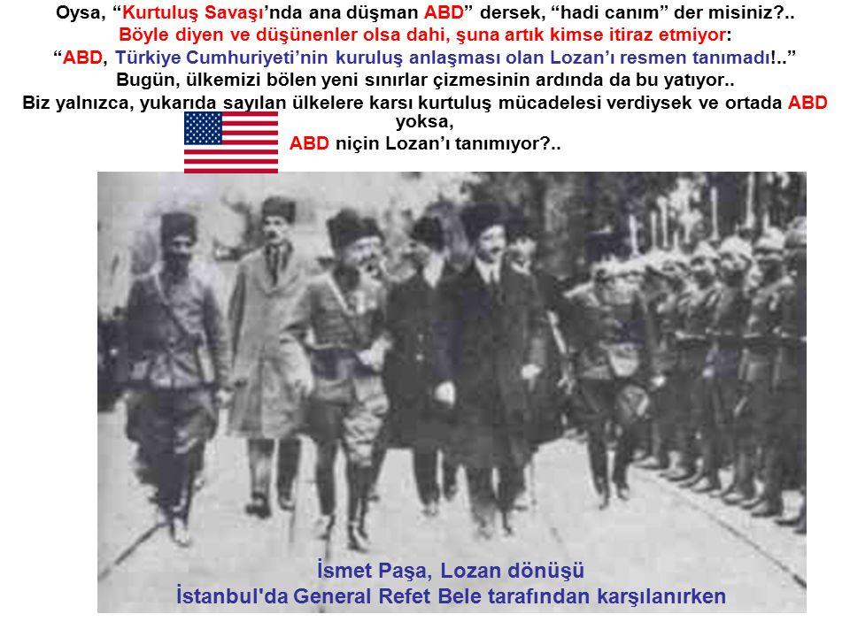 1919'DA DA AVRUPA'YA EMİR VEREN ABD..