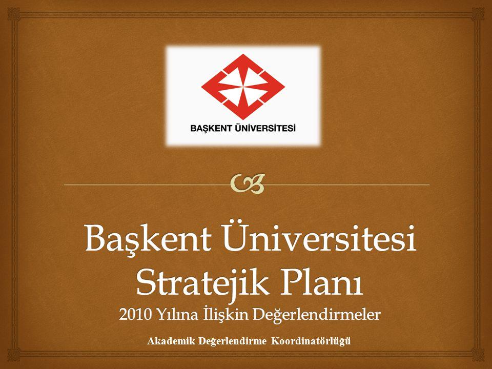  Eğitim Bilimleri Enstitüsü Stratejik Amaçlara Yönelik Olarak Hedefler