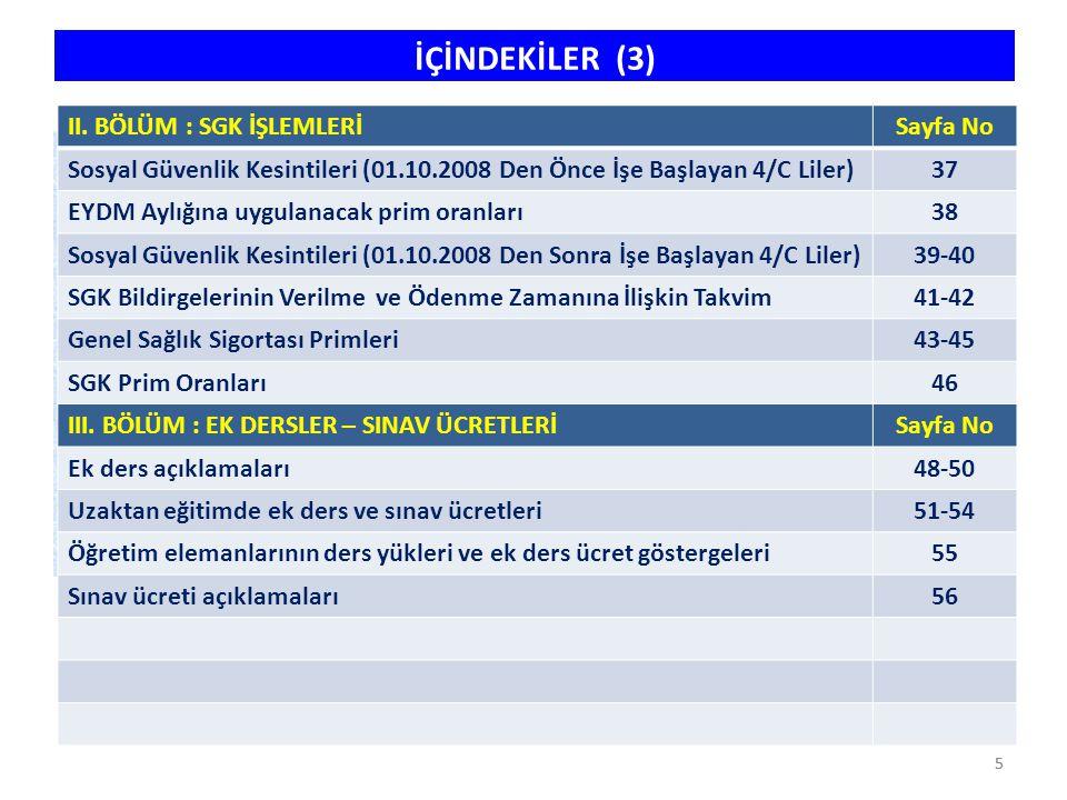 16 İLGİLİ MEVZUATCETVEL 657 s.