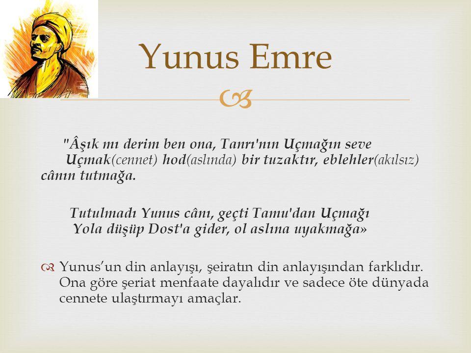   UNESCO, 1991 yılını Yunus Emre'nin doğumunun 750.