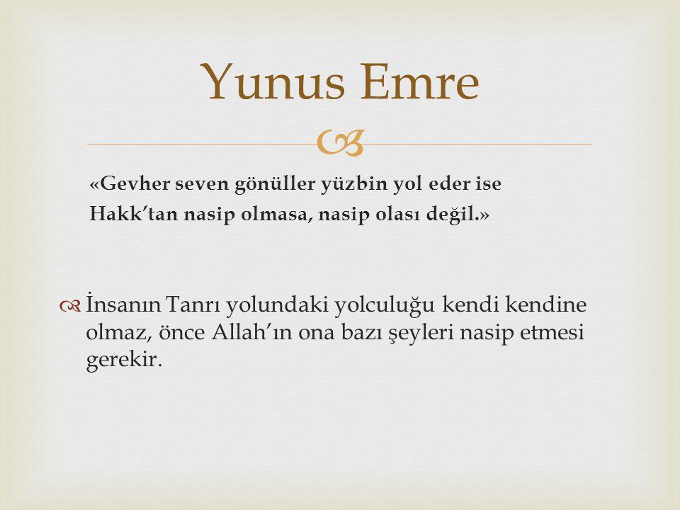   Gölpınarlı, A.(1992). Yunus Emre ve Tasavvuf.