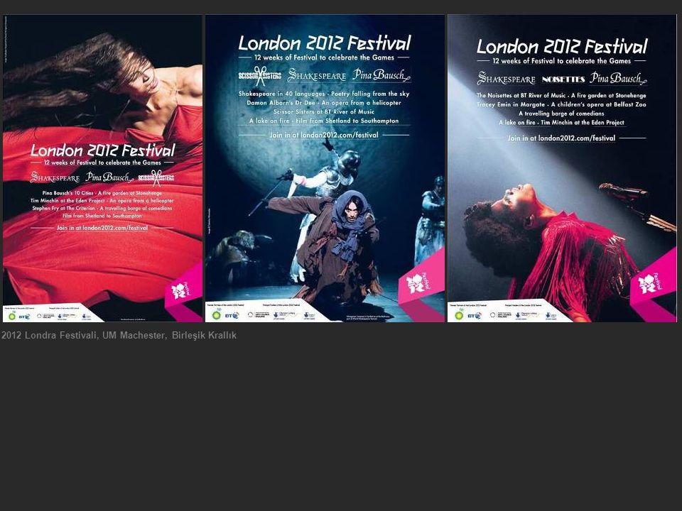 2012 Londra Festivali, UM Machester, Birleşik Krallık