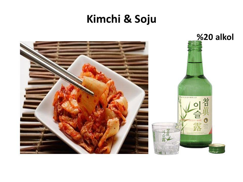 Kimchi & Soju %20 alkol