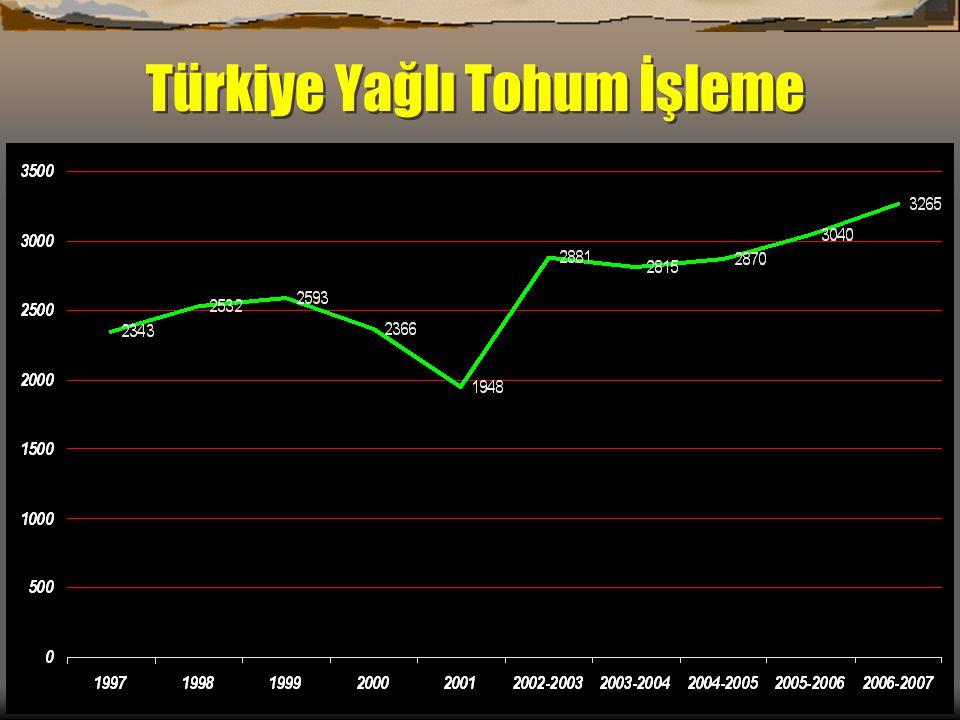 Türkiye Yağlı Tohum İşleme
