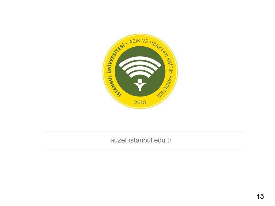 auzef.istanbul.edu.tr 15