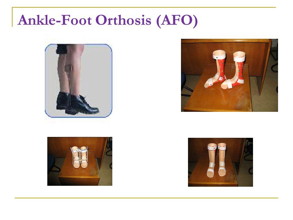 Ankle-Foot Orthosis (AFO)