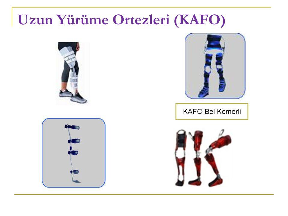 Uzun Yürüme Ortezleri (KAFO) KAFO Bel Kemerli