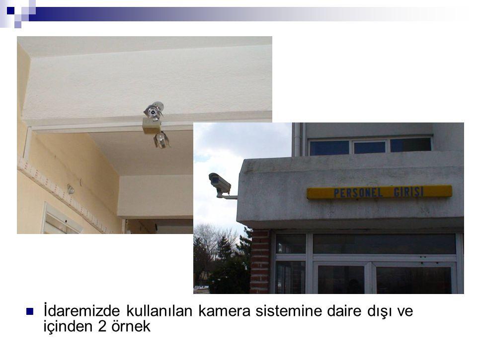 İdaremizde kullanılan kamera sistemine daire dışı ve içinden 2 örnek