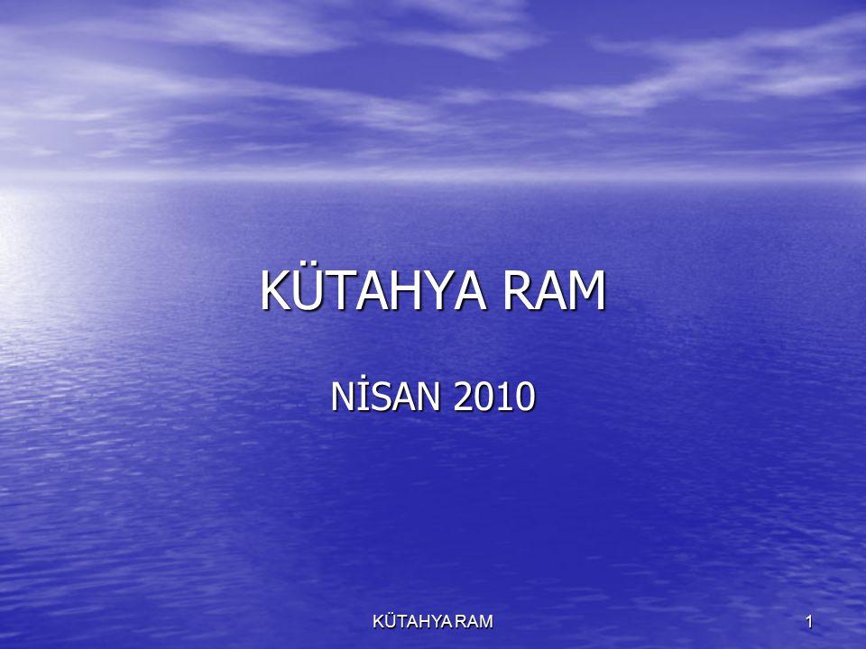 KÜTAHYA RAM 1 NİSAN 2010