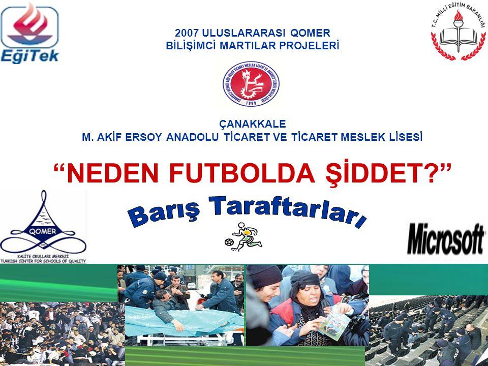 İmece Halkasının Adı Barış Taraftarları Halka'nın Sloganı Sporda Barış Hayallerde Kalmasın!!.