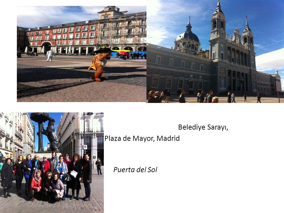 Puerta del Sol Belediye Sarayı, Plaza de Mayor, Madrid