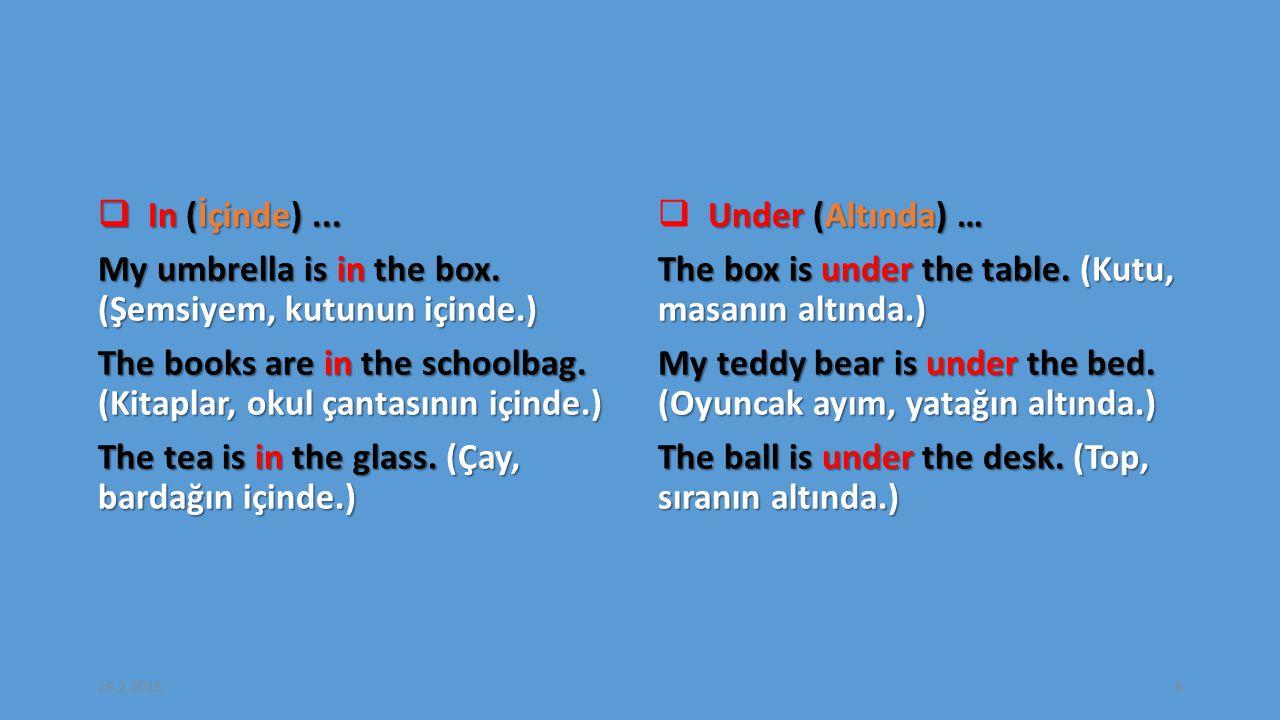 9- Verilen kelimelerden oluşan doğru seçeneği işaretleyiniz.
