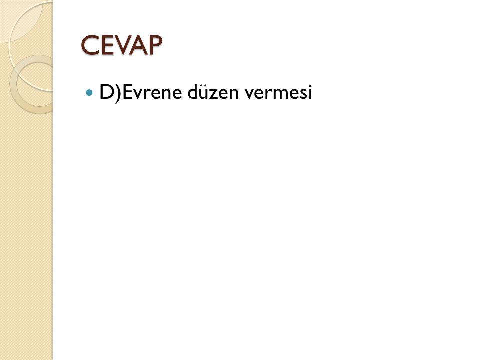 CEVAP