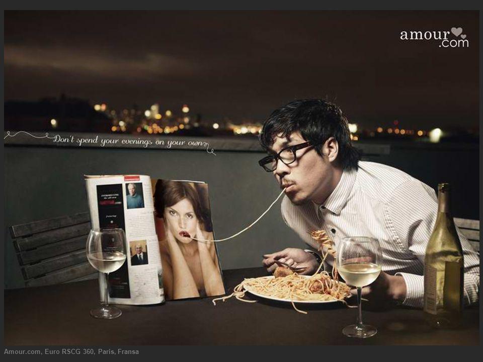 Amour.com, Euro RSCG 360, Paris, Fransa