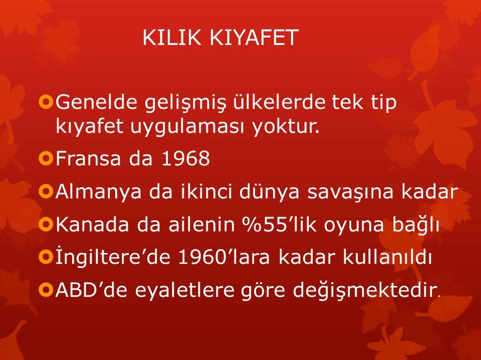 KARMA EĞİTİM  Türkiye'de 40 yıldır uygulanıyor.