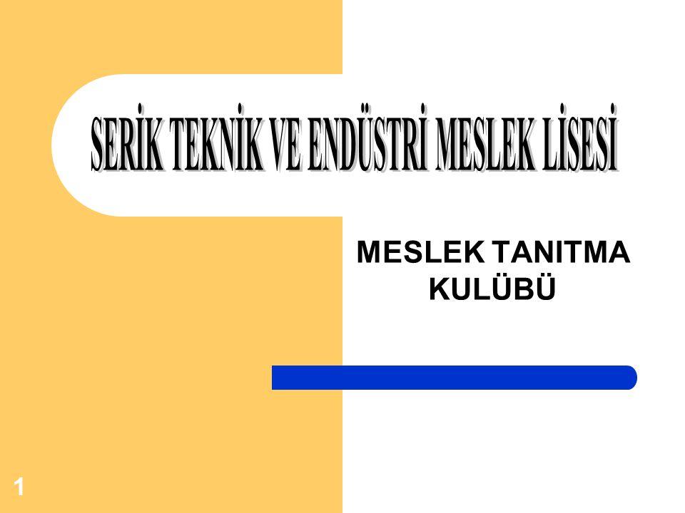 12 Mesleki ve Teknik Ortaöğretim Kurumları'nın kısaltılmasıdır.