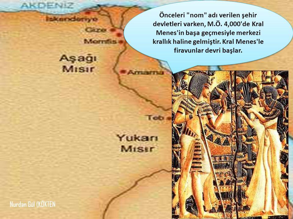 Firavunlar için piramitler yapmışlar, ölülerini mumyalamışlardır.
