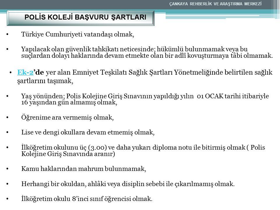Türkiye Cumhuriyeti vatandaşı olmak, Yapılacak olan güvenlik tahkikatı neticesinde; hükümlü bulunmamak veya bu suçlardan dolayı haklarında devam etmek