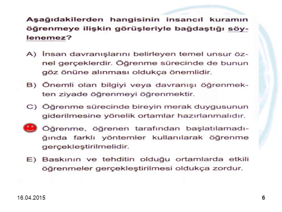 16.04.201527 Beyin Temelli Öğrenmenin Elemanları Beyin temelli öğrenmede amaç; bilgiyi ezberlemek yerine bilgiyi anlamlı olarak öğrenmektir.