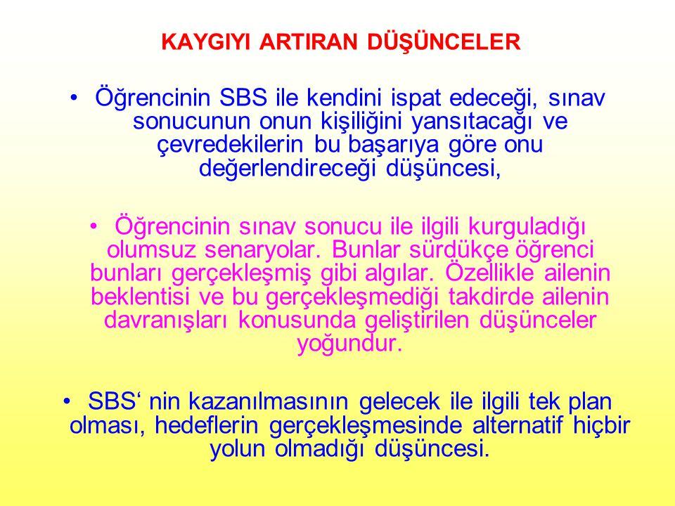 DEĞİŞTİRİLMESİ GEREKENLER DÜŞÜNCELER 1.