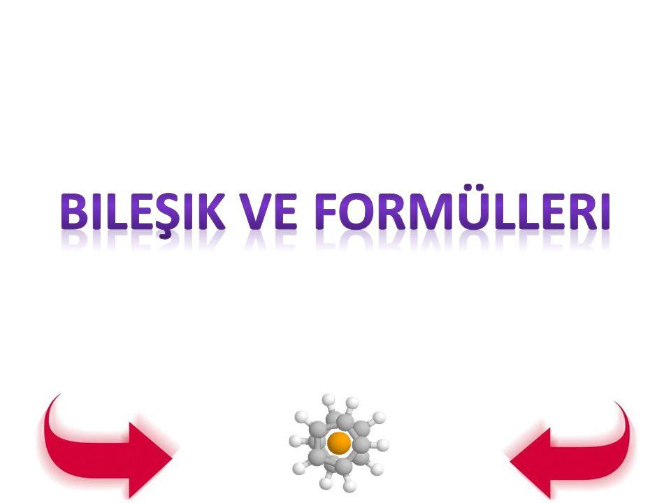 ( kalsiyumoksit, sodyumiyodür gibi.) Bileşikler içerdikleri elementlere göre adlandırılır.