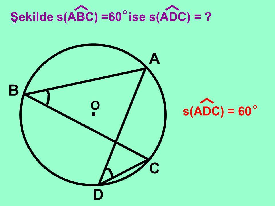 . O D A C B E s(ABC) s(ADC) s(AEC)