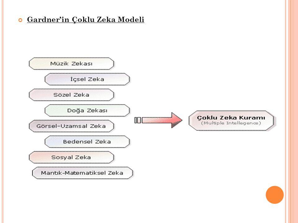 Gardner'in Çoklu Zeka Modeli