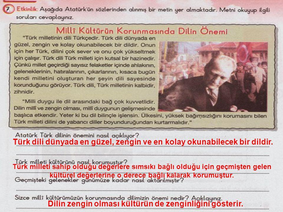 ciglik25@hotmail.com Türk dili dünyada en güzel, zengin ve en kolay okunabilecek bir dildir.