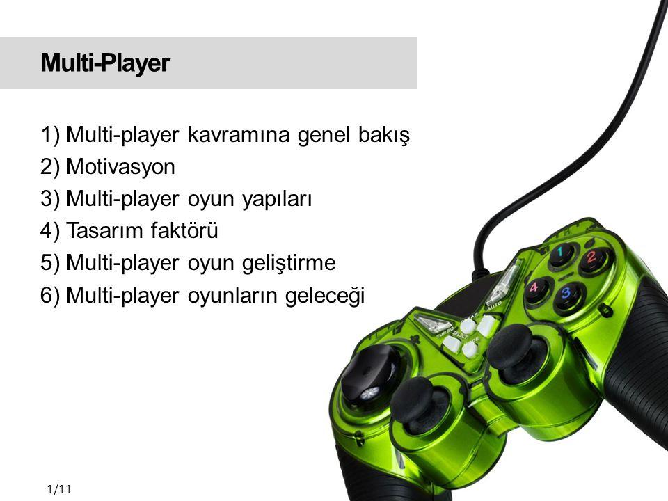 Multi-Player - Teşekkürler Erdi Okan YILMAZ BTÖ616 - Eğitsel Bilgisayar Oyunları Tasarımı | 2010