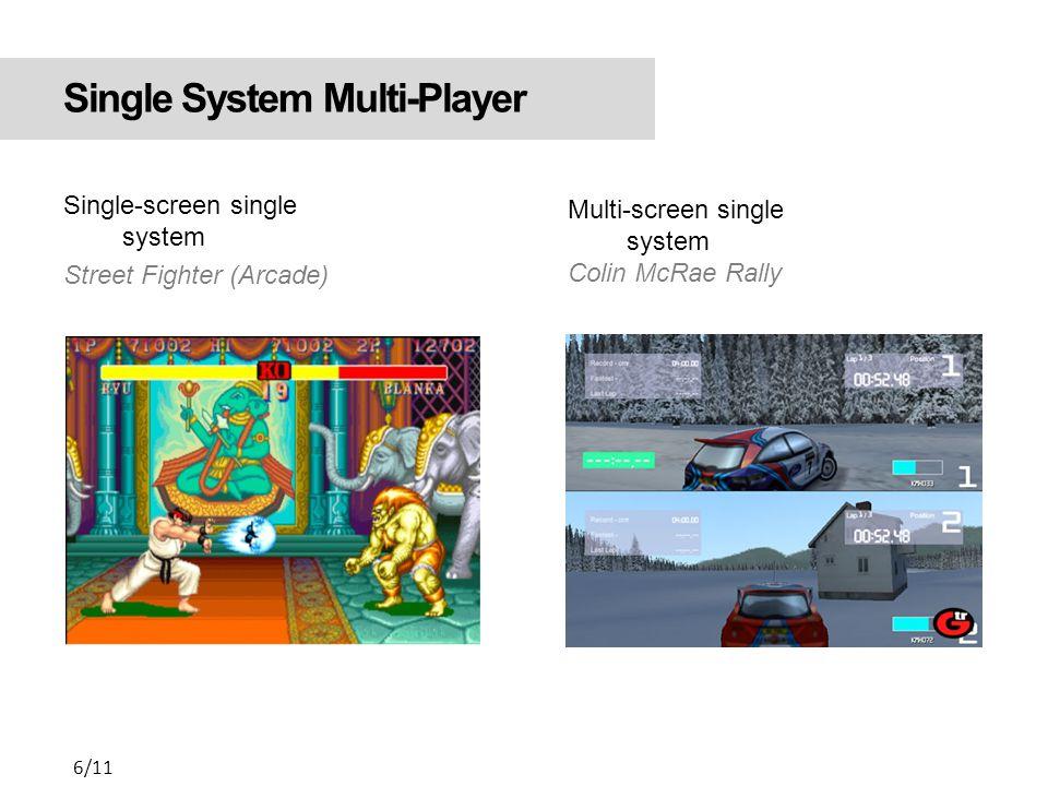Online Multi-Player - Ağ üzerinden gerçekleşir - Bireyler aynı / ayrı ortamlarda bulunabilir Counter Strike, Half Life, Quake - Massive online multi-player Knight Online, Travian, Ogame 7/11