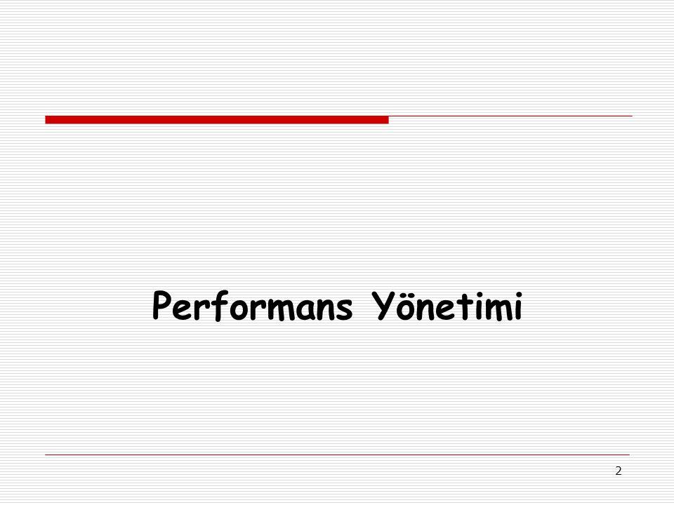 2 Performans Yönetimi