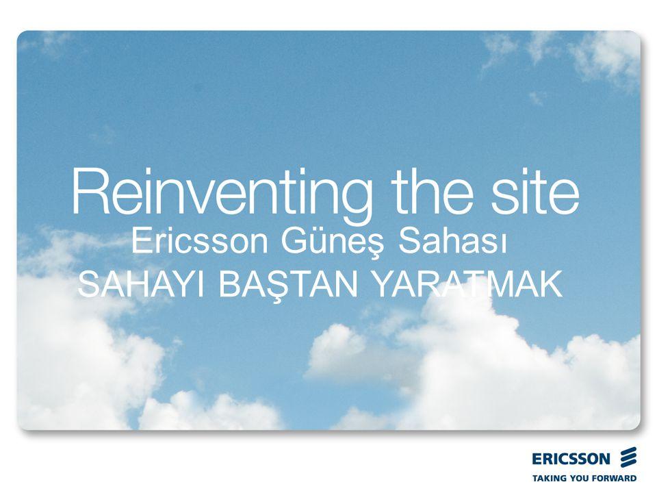 Ericsson Güneş Sahası SAHAYI BAŞTAN YARATMAK