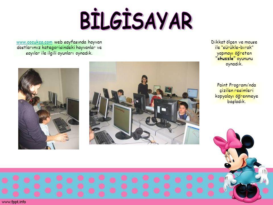 www.cocukca.comwww.cocukca.com web sayfasında hayvan dostlarımız kategorisindeki hayvanlar ve sayılar ile ilgili oyunları oynadık. Dikkat ölçen ve mou