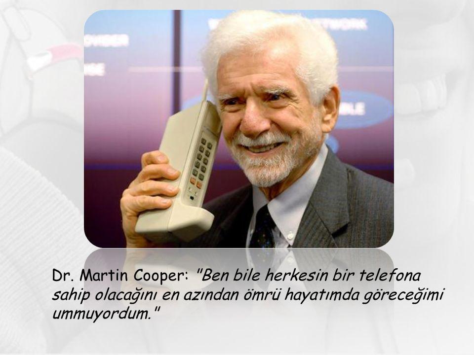 Dr. Martin Cooper: