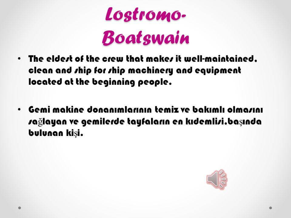 Lostromo- Boatswain