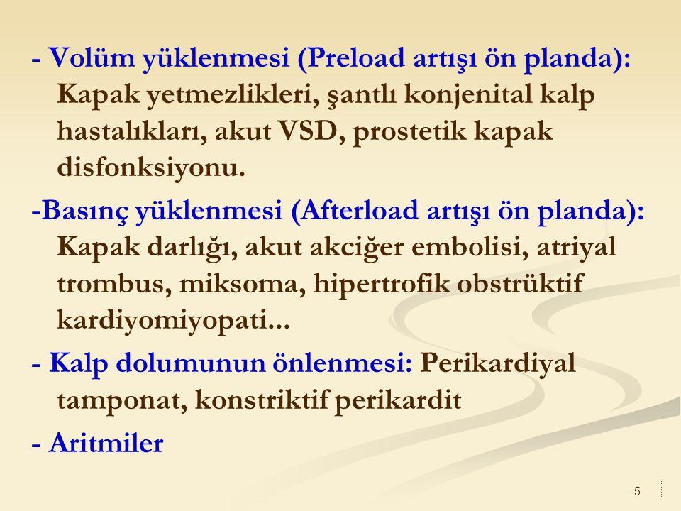 6 3- Periferik dolaşım regulasyonunun bozulması (Distrubütif şok): - Septik şok - Anafilaktik şok (Tip 1 allerjik reaksiyon) - Nörojenik şok - Endokrinolojik şok