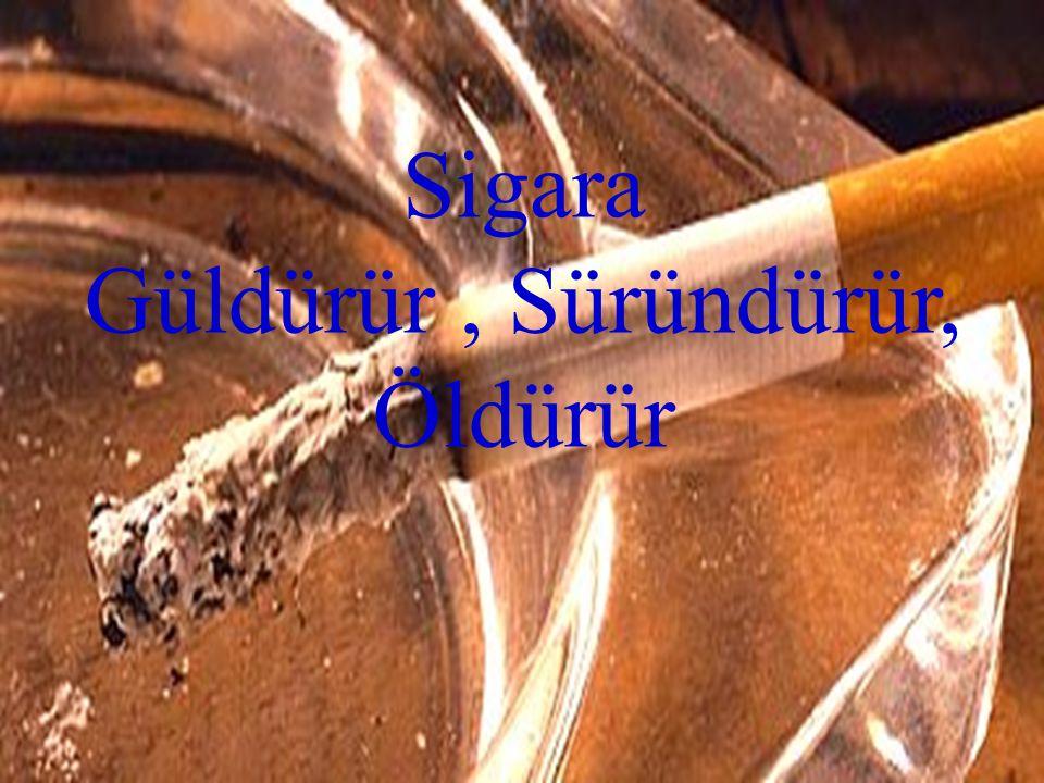 Sigara Güldürür, Süründürür, Öldürür