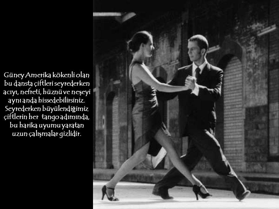 Ölüler hariç, her insan kıpırdar. Fakat her kıpırtı, dans de ğ ildir. Çünkü dans, yetenek, emek ve ruhla yo ğ rulmu ş kıpırtıların esteti ğ idir. Tang