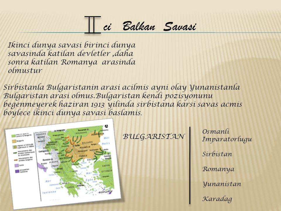 Bulgaristan baris anlasmasi yapmak zorundaymis.