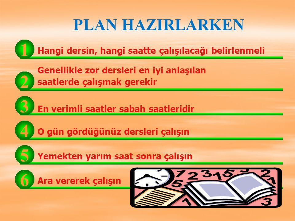 PLANSIZLIK Dikkatsizliğe, İsteksizliğe, Yorgunluğa, Bitkinliğe, Ve dalgınlığa neden olur.