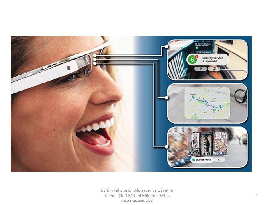 Giyilebilir Teknoloji Giyilebilir teknoloji olarak lanse edilen Google Glass, şuan için satışa sunularak milyonlarla buluşmamış olmasına karşın internet kullanıcılarının ürünle çok yakından ilgilenmesi bu yeni teknolojinin hayal sınırlarını zorlayan özellikleri de peşi sıra getireceğine dair fikirlerin ortaya atılmasına sebep oluyor.